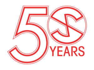 Captain Scarlet 50th anniversary logo